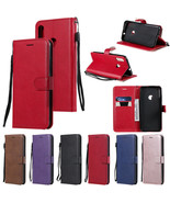 For Motorola Moto E6 Plus E6 G7 G6 G5S Plus E4 E5 Flip Leather Wallet Ca... - $60.45