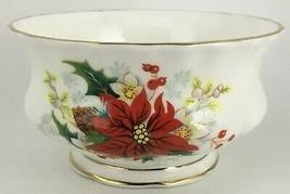 Royal Albert Poinsettia Sugar bowl ( open )  - $20.00