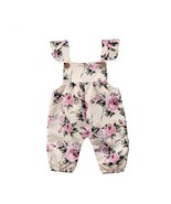 Infant Baby Girls Sleeveless Floral Print new born baby boy Girls clothe... - $8.39