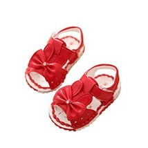 Girls Summer Baby Sandals Princess Shoes 0-1-2 Years Old Baby Toddler Shoes image 2