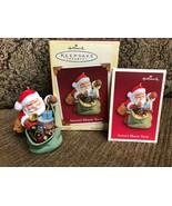 Hallmark Keepsake Ornament Sant's Magic Sack Special Lighting Effect - $12.19