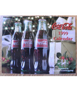 1999 COCA-COLA CALENDAR - $17.81