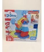 Dr Seuss Thing 1 & Thing 2 Tricks Building Set 29Pc  Mega Bloks Building... - $19.55