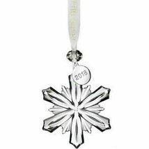"NEW Waterford Lighting Up The Season 2018 Mini Snowflake Ornament 2.5"" 40031773 image 1"