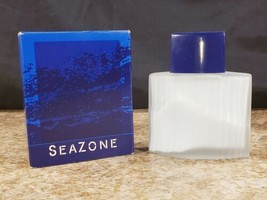 Avon SeaZone 3.4 OZ After Shave Soother 100 ml Decorative Glass Bottle  - $24.23