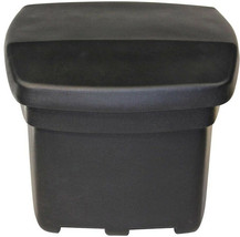 FCMP Outdoor 5 cu. ft. Outdoor Sand and Salt Storage Bin in Black - $104.07