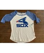 Chicago White Sox Tshirt Wright Ditson XL Baseball Thin Cotton Blend NWT... - $23.75