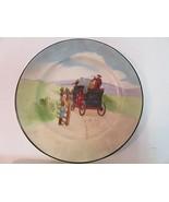 """Royal Doulton Horse Buggy Plate 1904-1922 6"""" Antique Rare Collector Decor - $58.42"""