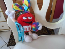 "M & M plush toy with bunny ears 9"" NWT - $5.75"