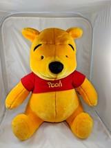 "Huge Winnie the Pooh Plush Sits 19"" Mattel Stuffed Animal toy - $8.95"