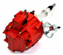 AMC Jeep Straight 6 232 3.8L & 258 4.2L 65K COIL Red Cap HEI Distributor image 5