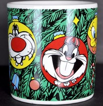 Bugs Tweety Taz Christmas Coffee Mug Tea Cup Ornaments Looney Tunes Appl... - $15.40