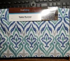 """True Living Polyester Table Runner 13"""" x 72"""" - $9.89"""