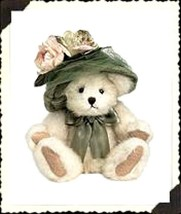 "Boyds Bears ""Mimi Chapeau"" "" 6"" Plush Bear - #918449- NWT- 2002- Retired - $15.99"