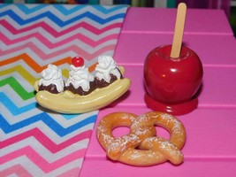 Our Generation Candy apple Baking Accessories Lot Snacks fits American Girl Doll - $15.83