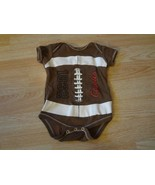 Infant/Baby South Dakota USD Coyotes 6 Months Football Creeper One-Piece... - $6.79