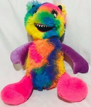 "Build A Bear Co Mixters Monster Tye Dye Rainbow Multi Color 16"" Plush Se... - $26.35"