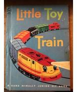 Little Toy Train Rand McNally Junior Elf 8031 Hard Back Childrens Book V... - $9.49