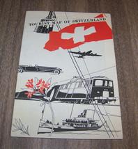 Vintage Switzerland Tourist Map - $9.90