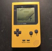 Nintendo Game Boy Pocket Yellow Handheld System *Excellent Condition* TE... - $45.00