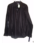 New Men's APT.9 Size L Black on Black Stripped ... - $14.95
