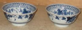 3 Mid Century Japanese Rice bowls - $28.99