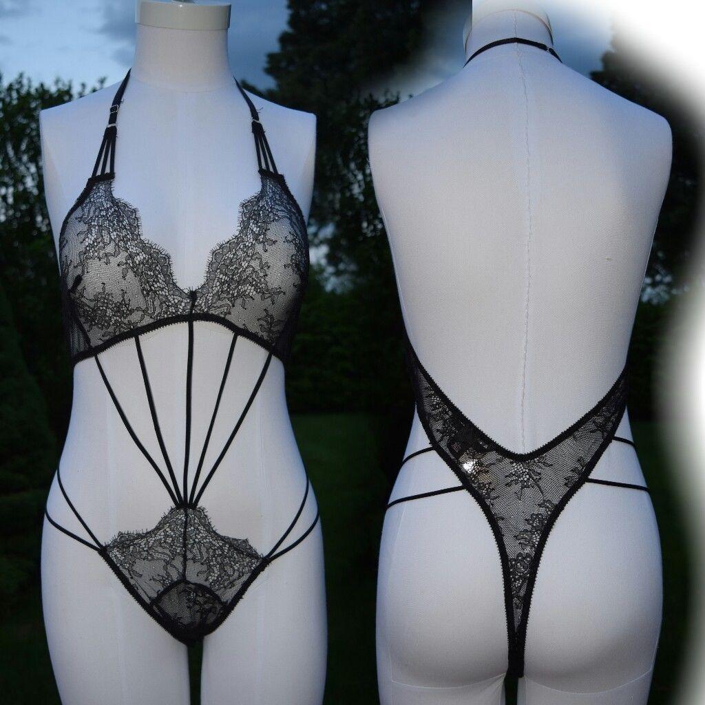 S l1600. S l1600. Previous. NWT Victoria s Secret MEDIUM Very Strappy Chantilly  Lace Black Teddy 50795444e