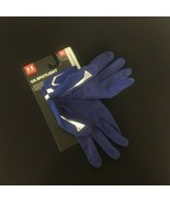 UA Under Armour SPOTLIGHT Batting Gloves Men's MD Medium Blue #100G - $27.37