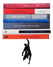 Book Gifts Bookends Superhero Metal Bookend Funky Home Design Superman B... - £26.87 GBP
