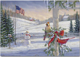 Countryside Cardinals Holiday Cards - $60.50+