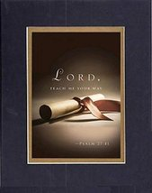 GoodOldSaying - Poem for Inspiration - Lord, teach me your way . . . Poem on ... - $9.85