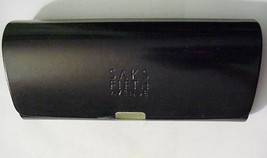 SAKS FIFTH AVENUE Black Empty Display Case Box Velour Lined - $16.95
