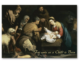 Nativity Night Christmas Cards - $60.50+