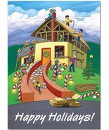 Building Holiday Joy Contractor & Builder Holiday Cards - $60.50+