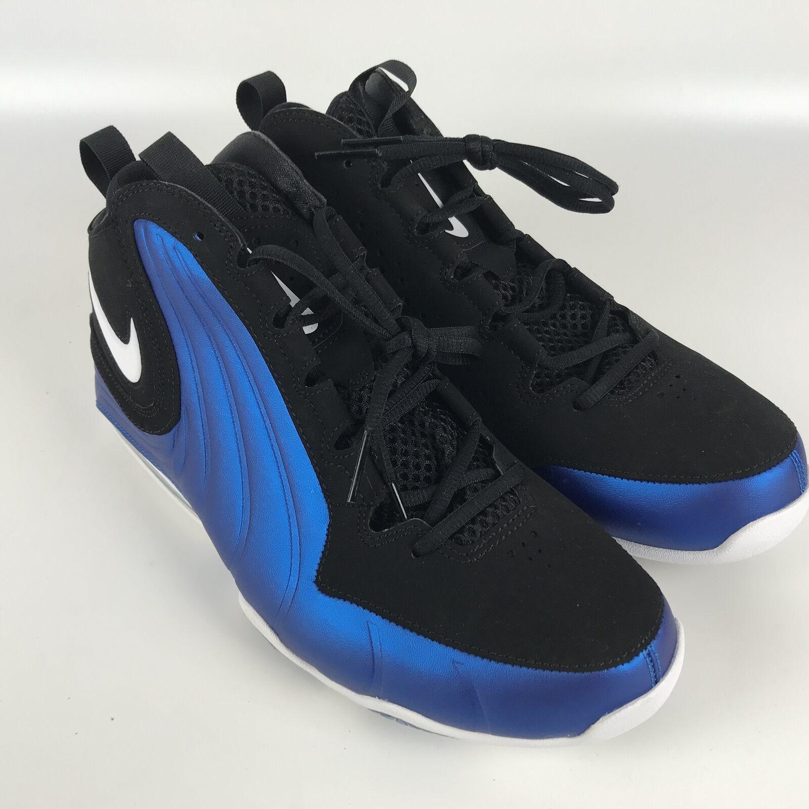 Nike Air Max WAVY Men's size 11 Basketball Shoes Penny Blue Black AV8061 002 image 2