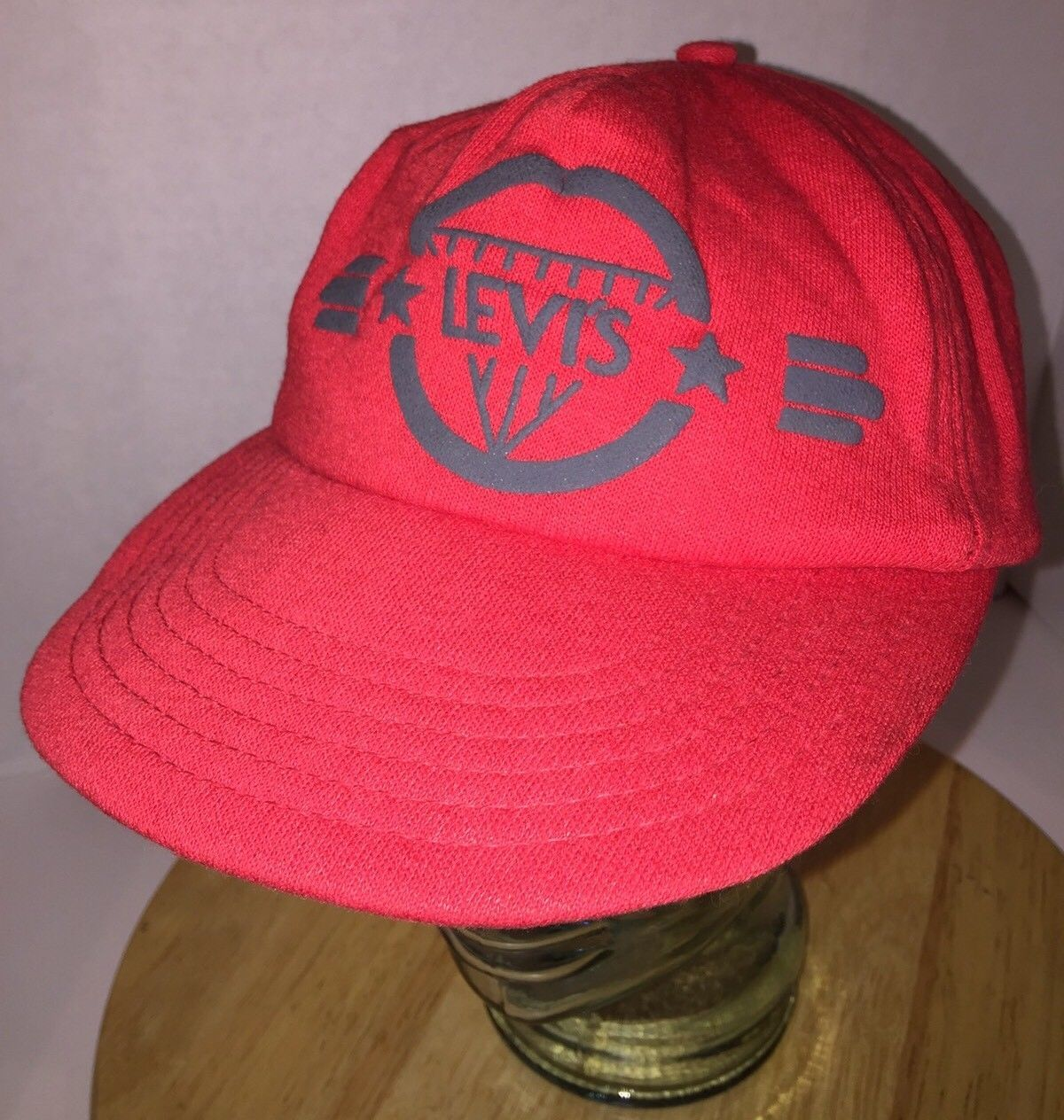 fb0f81e4bc2 Vintage Levi s 80s Usa Red Hat Cap Snapback and 15 similar items