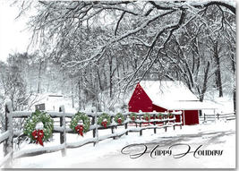 Cozy in the Country Holiday Cards - $60.50+