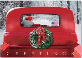 4-Wheeled Sleigh Christmas Cards - $60.50+