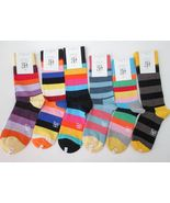 Happy Socks - Stripes - brand new unisex combed cotton soft - $6.95
