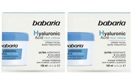 2- BABARIA Hyaluronic face cream -ULTRA MOISTURIZER  - 125 ml x 2 - $24.78