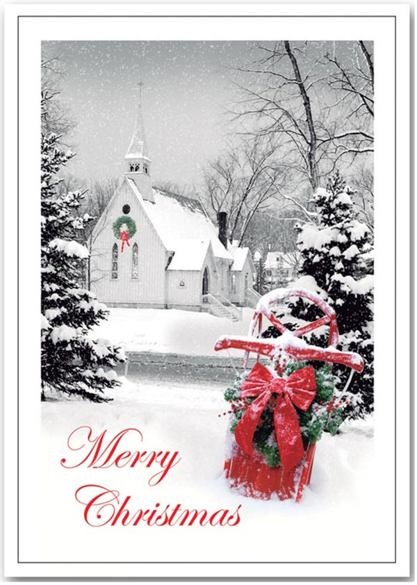 Peaceful Eve Christmas Cards