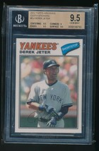 2012 Topps Archives - 1977 Cloth Patches #77C-DJ Derek Jeter BGS 9.5 - $30.00
