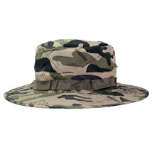 Outdoor Casual Combat Camo  Sun Hat Cap Fishing Hiking   scissors - $10.99