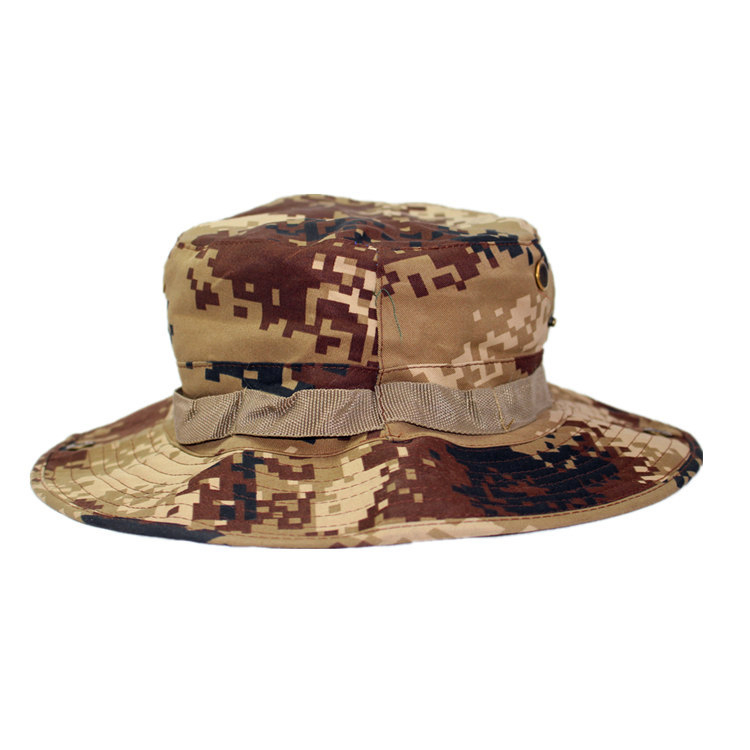 Outdoor Casual Combat Camo  Sun Hat Cap Fishing Hiking   desert