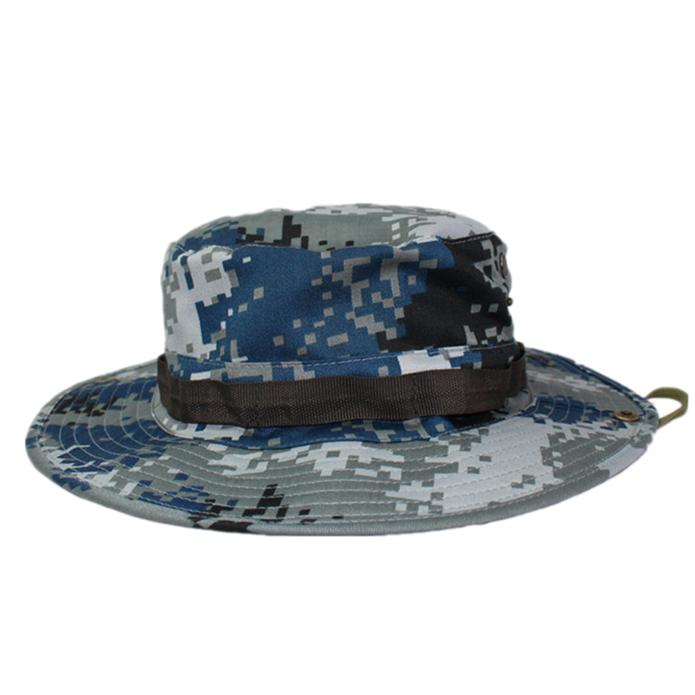 Outdoor Casual Combat Camo  Sun Hat Cap Fishing Hiking   city