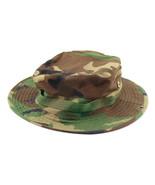 Outdoor Casual Combat Camo  Sun Hat Cap Fishing Hiking   Woodland Camo - $8.99