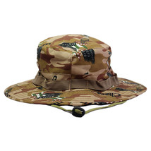 Outdoor Casual Combat Camo  Sun Hat Cap Fishing Hiking   foreigh army de... - $10.99