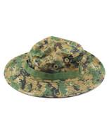 Outdoor Casual Combat Camo  Sun Hat Cap Fishing Hiking   Digital Woodland - $8.99