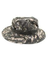Outdoor Casual Combat Camo  Sun Hat Cap Fishing Hiking   Digital Gray - $8.99