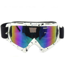 Snow Ski Snowboard Goggles Anti-Fog Eye Protection White and Black Colourful - $19.99